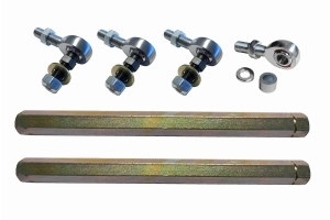 Evo Manufacturing HD Front Sway Bar Endlinks, 13.5in - 14.9in - JT/JL