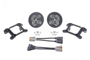 Diode Dynamics SS3 Pro LED Fog Light Kit, White - Pair - JT OverLand/Rubicon w/ Plastic Bumper