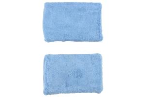 Chemical Guys Premium Grade Microfiber Applicator Blue - 2 Pack
