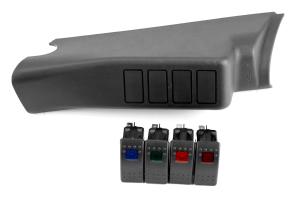 Daystar A-Pillar Switch Pod w/ Switches ( Part Number: KJ71044BK)