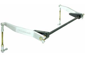 RockJock AntiRock Sway Bar Kit w/Aluminum Brackets and Arms - Front - JK