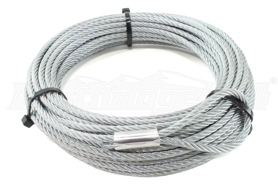 Warn Replacement Wire Rope 316 x 50ft | 60076 - Free Shipping