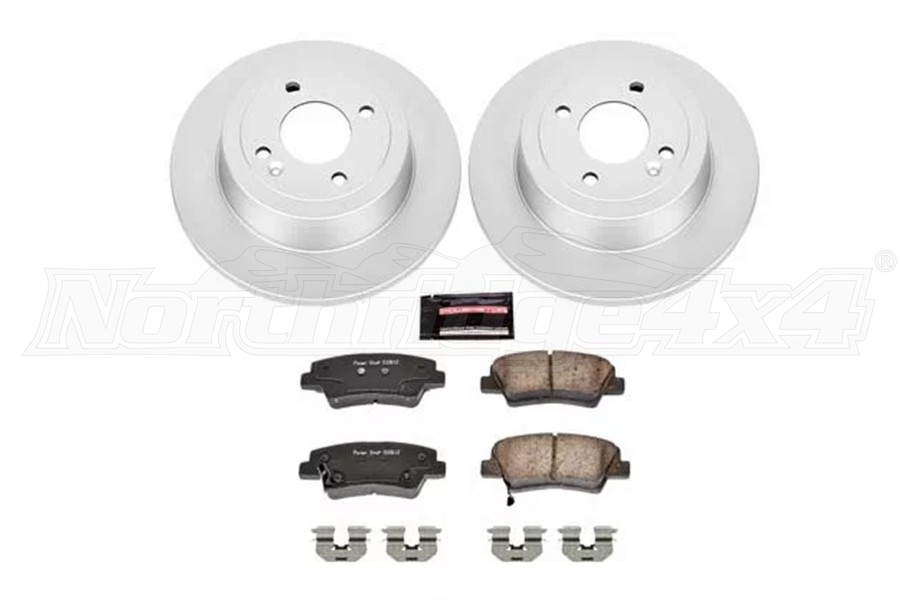 Power Stop Evolution Rear Brake Kit - JL Sport/Moab Models