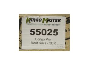 Kargo Master Congo Pro Roof Rails  (Part Number: )