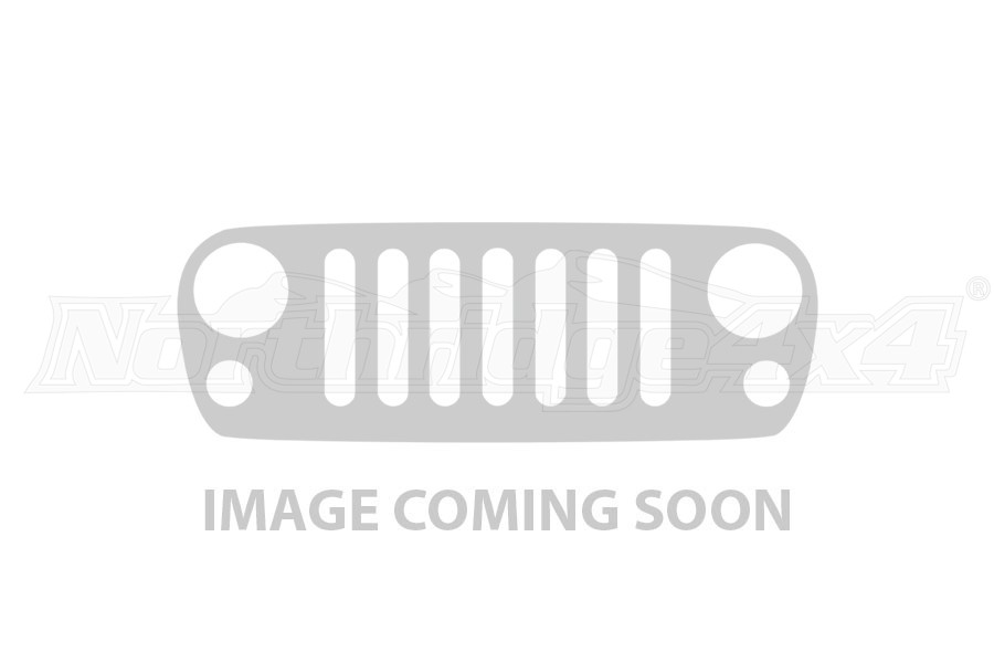 40in E-Series Light Cover - Black (4X10in) (Part Number:140913)