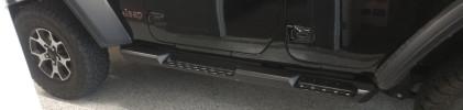 LOD Destroyer Series Rock Sliders, Black  ( Part Number: JRS1814)