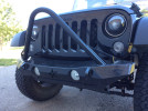 Crawler Conceptz Ultra Series Mid Width Front Bumper w/Stinger And Tabs Bare ( Part Number: US-MID-003)