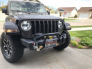 Rugged Ridge Front HD Stubby Bumper  ( Part Number: 11540.32)
