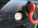 Poison Spyder LED Back-Up Light Clear 2.5in ( Part Number: 41-04-300)