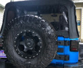 Rugged Ridge HD Tire Carrier Kit ( Part Number: 11546.50)