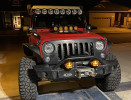 Baja Designs LP4 Pro LED Light, Amber, Driving/Combo ( Part Number: 290013)