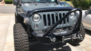 LOD Signature Series Shorty Front Bumper w/Stinger Black Powder Coated ( Part Number: JFB0761)