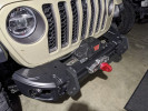 Rugged Ridge Arcus Front Stubby Bumper w/ Winch Tray and Tow Hooks  ( Part Number: 11549.04)