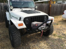 Poison Spyder BFH Front Bumper w/Trail Stinger and Tabs Bare ( Part Number: 14-16-020-DS)