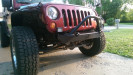 Crawler Conceptz Skinny Series Front Bumper w/Bar And Tabs Bare ( Part Number: SB-FB-001)