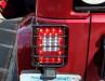 Rugged Ridge LED Tail Light Set, Smoke (Part Number: )