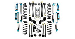 Jeep Gladiator suspension, 2.5in lift kits, 3in lift kits, 3.5in lift kits, Gladiator shocks and steering parts and accessories.