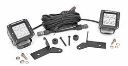 Jeep Gladiator lights and lighting accessories, Gladiator light mounts, replacement lights and Gladiator light bar accessories.
