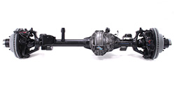 Jeep Gladiator axes, brakes, differentials, driveshafts and other Gladiator drivetrain parts and accessories.