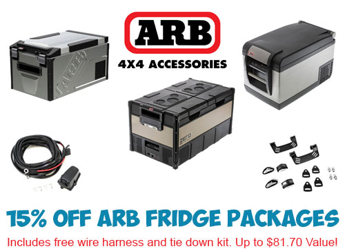 E3 Overland - 15% Off ARB Fridge Package