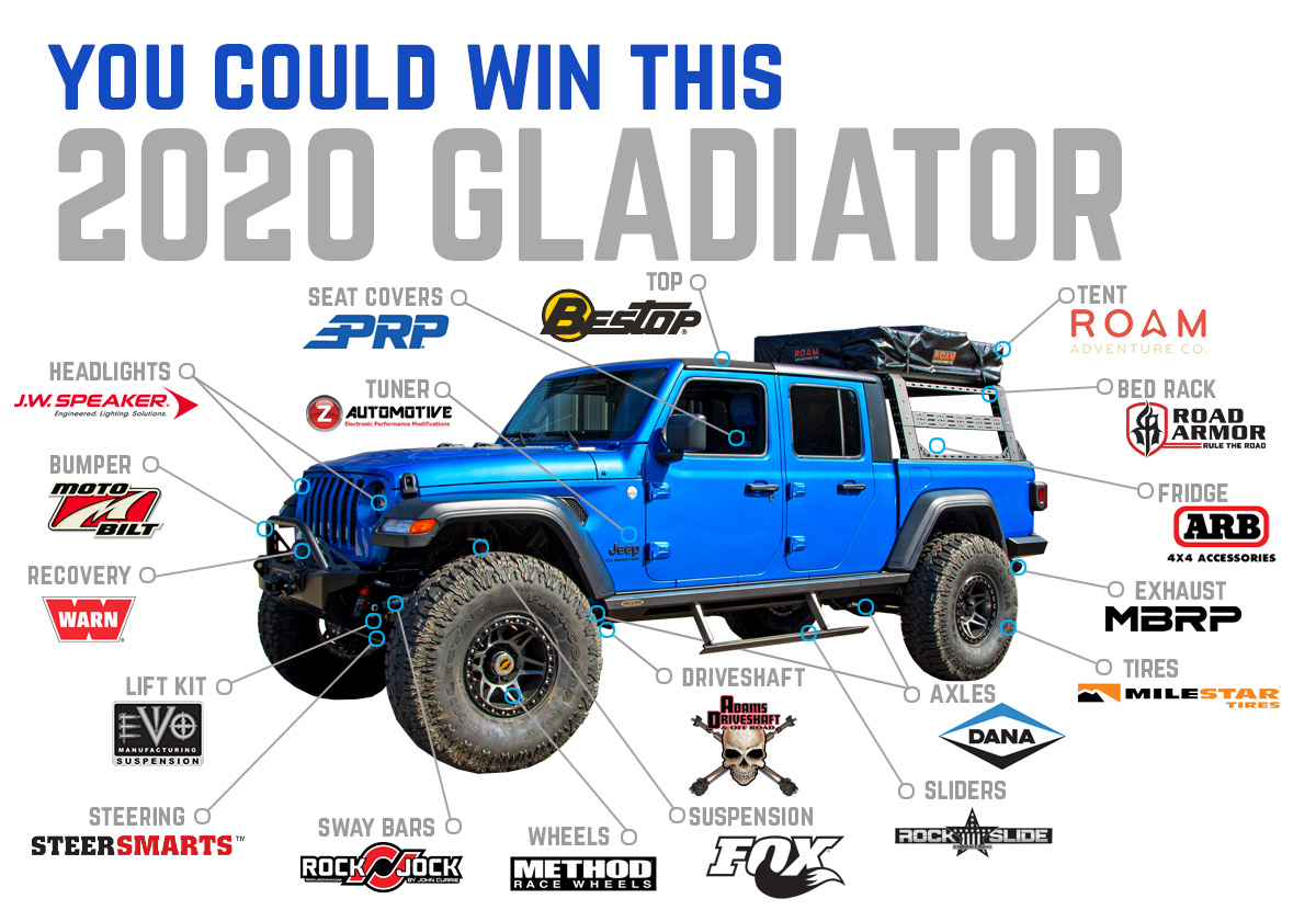 Northridge4x4 Gladiator Giveaway