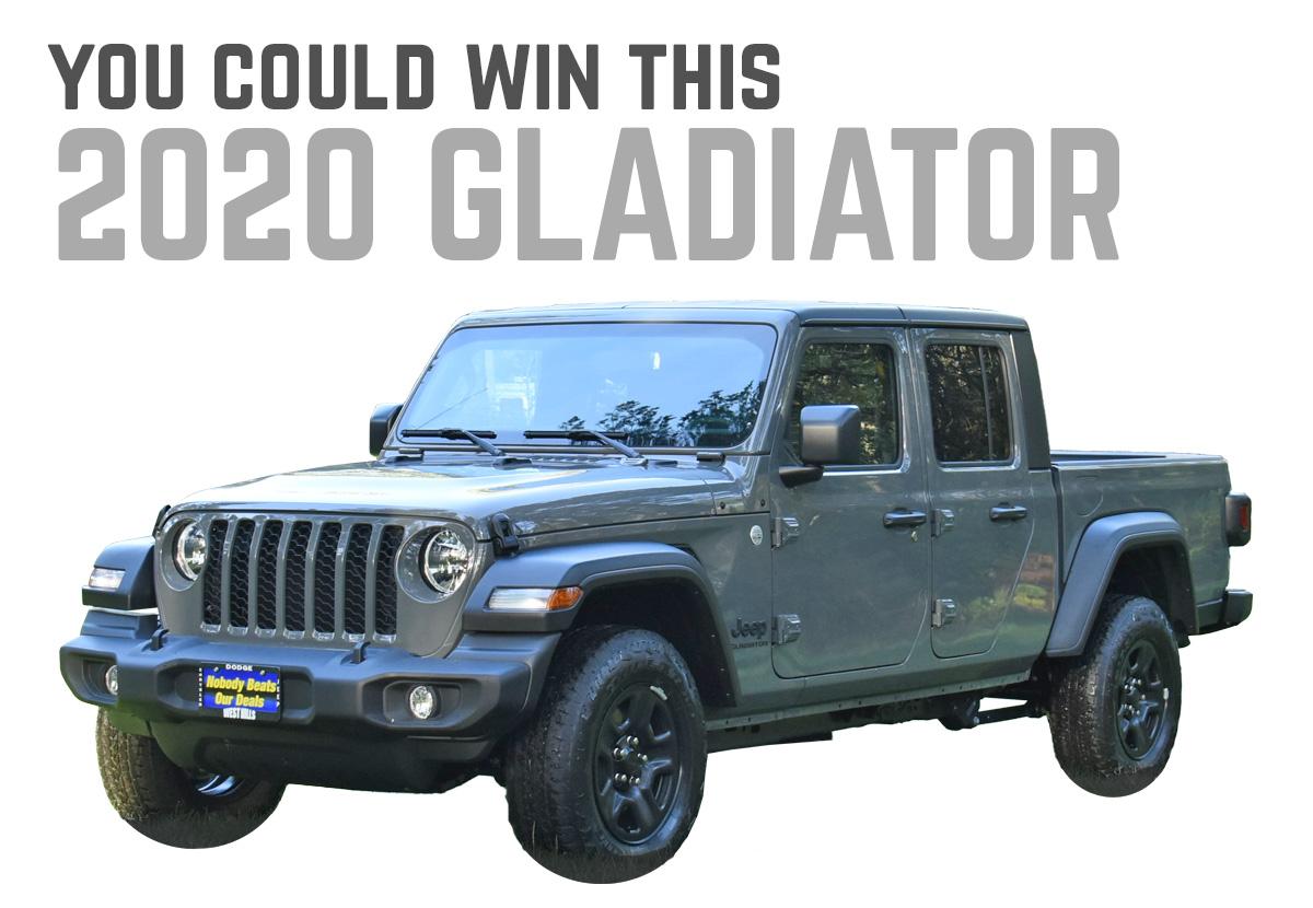 Northridge4x4 Gladiator Giveaway