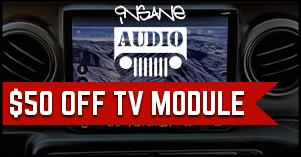 Insane Audio fifty dollars off tv module deal