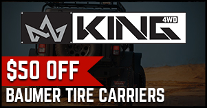 King4WD $50 off baumer tire carries deal