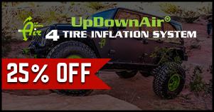 Up Down Air twenty five percent off sale