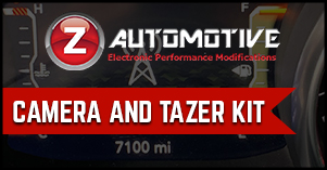 Zautomotive camera and tazer kit package deal