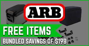 ARB fridge package deal with free items
