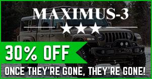 maximus 3 thirty percent off sale