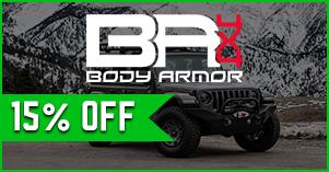 Body armor 15% off