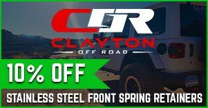 clayton 10% off spring retainer