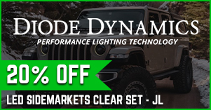 Diode clear side markers 20% off