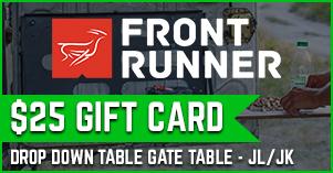 Front runner $25 gift card