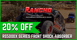 Ranch 20% off RS5000X series