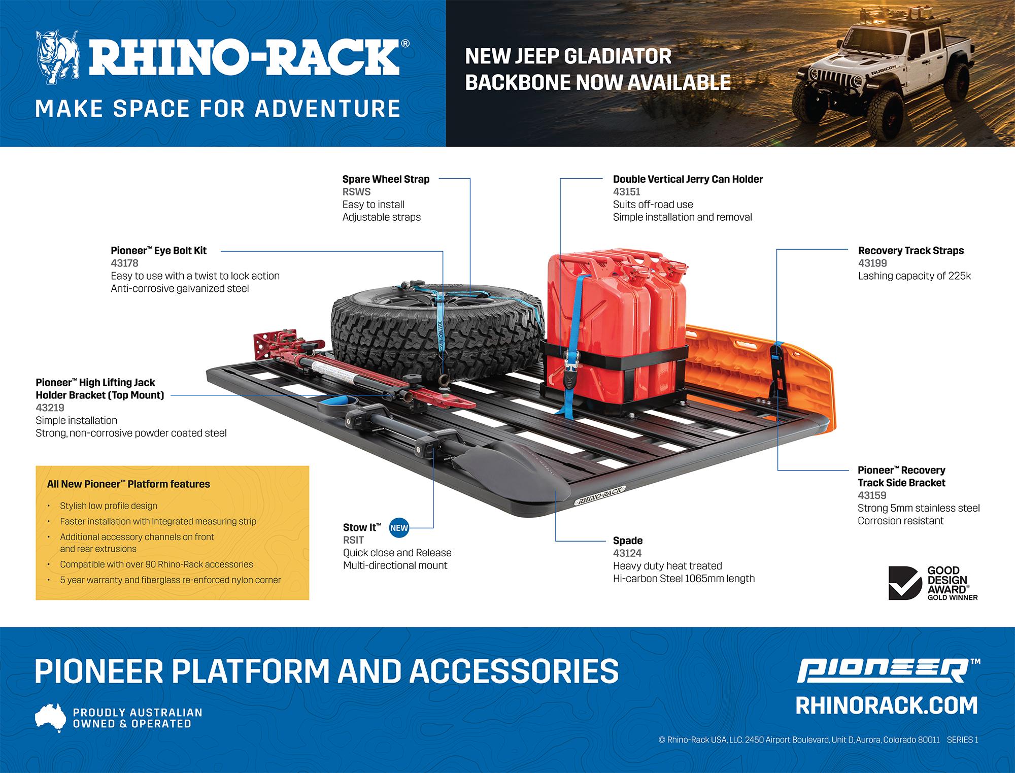 Rhino-Rack Make Space For Adventure