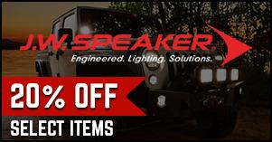 J.W Speaker special pricing sale