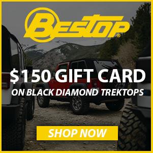 Bestop $150 gift card