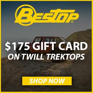 Bestop $175 Gift Card