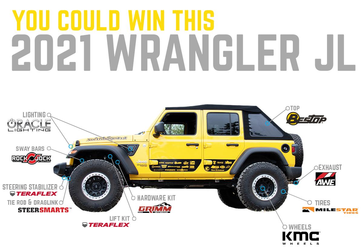 Northridge4x4 Wrangler Giveaway